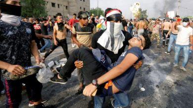 Photo of تواصل الاحتجاجات في العراق رغم لجوء السلطات للعنف