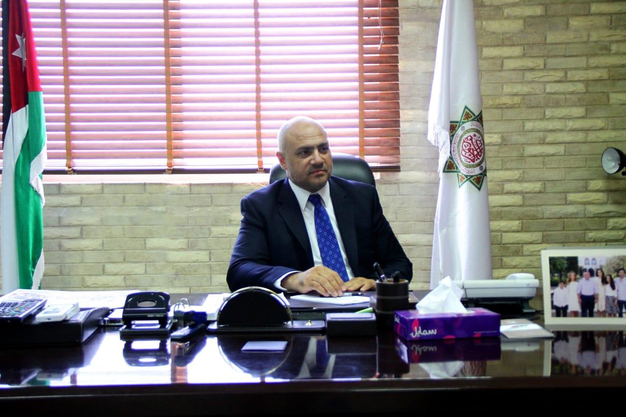 رئيس مجلس عمداء جامعة العلوم الإسلامية العالمية الأستاذ الدكتور وائل عربيات