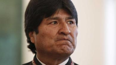الرئيس البوليفيّ السابق إيفو موراليس