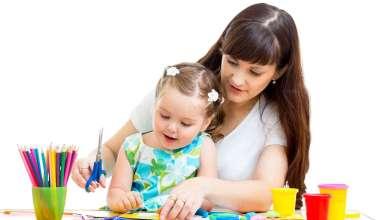 تحفيز الام للطفل