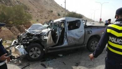 صورة تعبيرية لحادث سير سابق في عمان
