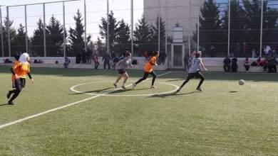فريقا اربد ورحم لكرة القدم خلال احدي المباريات