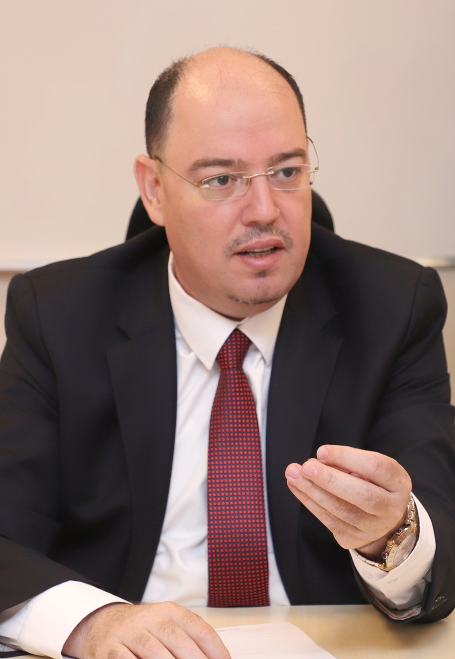ممثل قطاع تكنولوجيا المعلومات والاتصالات في غرفة تجارة الاردن هيثم الرواجبة