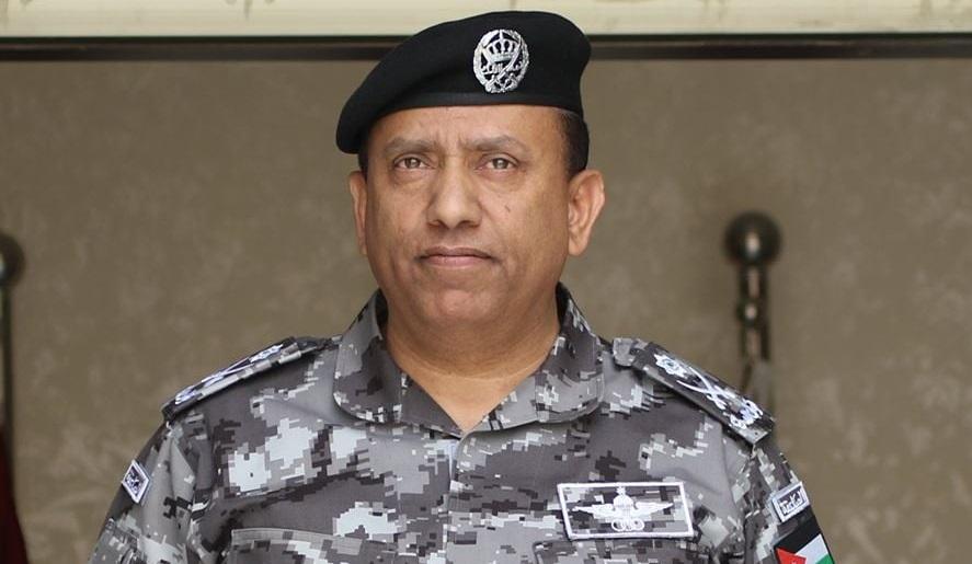 مدير الأمن العام اللواء الركن حسين الحواتمة