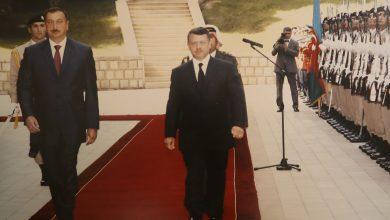 من زيارة سابقة لجلالة الملك إلى أذربيجان - من المصدر