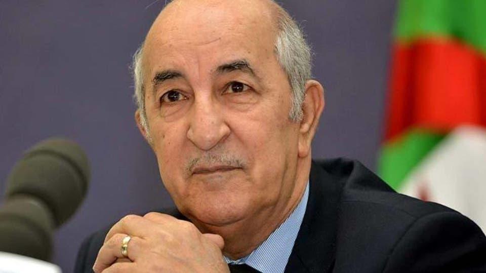 عبد المجيد تبون رئيس الجزائر الجديد - أرشيفية