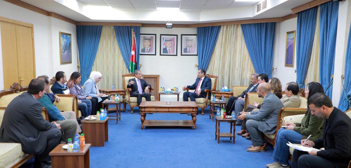 لجنة الشؤون الخارجية النيابية تجتمع مع سفير دولة المكسيك - بترا