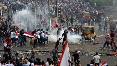 Photo of قتيل وجرحى بمواجهات بين المتظاهرين وقوات الأمن في بغداد