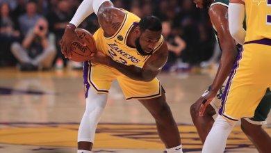 Photo of ليبرون يقود ليكرز للفوز على باكس بدوري السلة الأميركي
