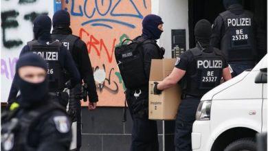 داهمت الشرطة الألمانية عدة مواقع