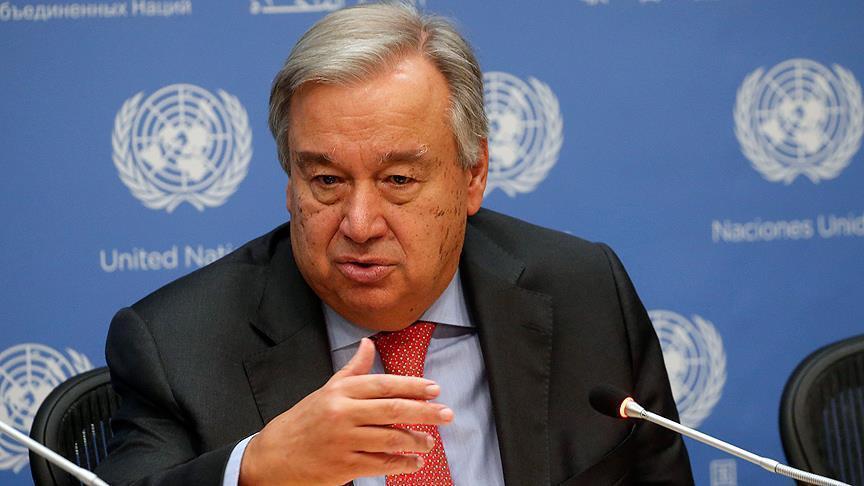 الأمين العام أنطونيو غوتيريش