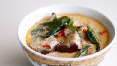 """طبق """"سايور لوديه"""" هو طبق بسيط من الخضروات وصلصة الكاري قوامه حليب جوز الهند المتبل وسبعة مكونات أخرى"""