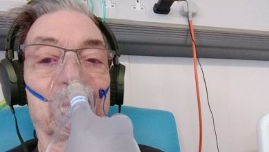 أصيب براين ماكلور بالتهاب في الرئة جراء التقاطه عدوى كورونا
