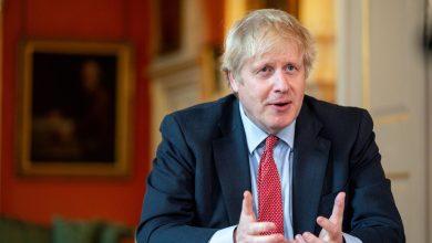 رئيس الوزراء البريطاني بوريس جونسون- ا ف ب