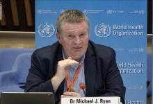 المدير التنفيذي لبرنامج الطوارئ في المنظمة، الدكتور مايك ريان