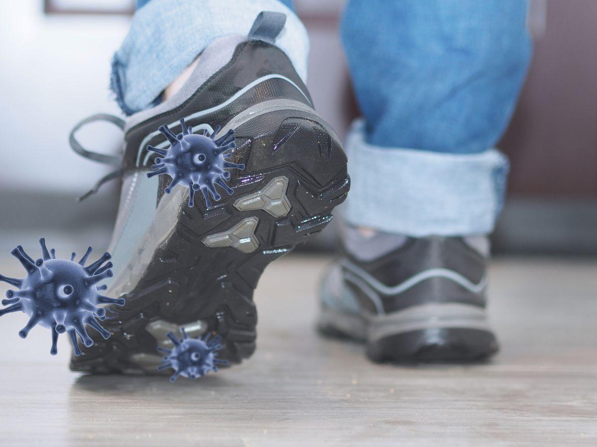 من المهم ترك الحذاء على مدخل بيتك