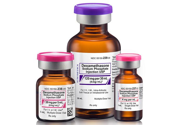 """ويعد """"ديكساميثازون"""" نوعا من أدوية الكورتيكوستيرويد (الستيرويد)"""
