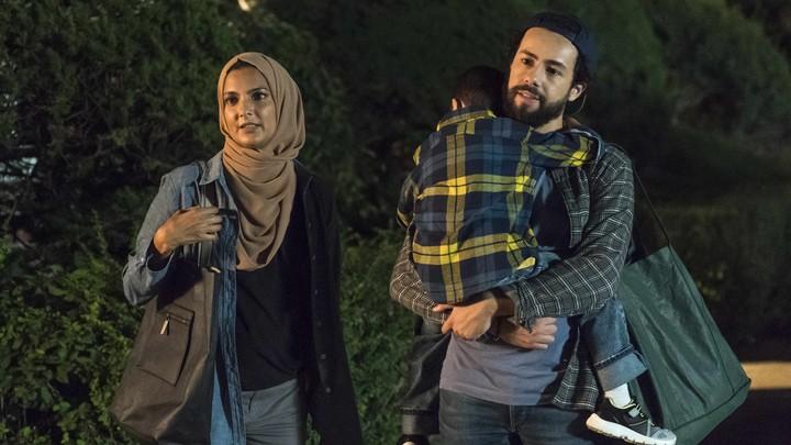 الممثل رامي يوسف في مشهد من مسلسل رامي