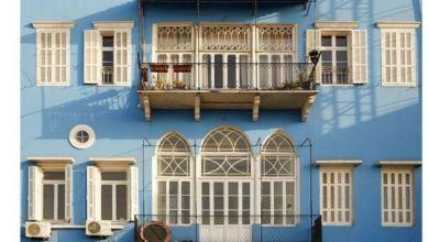 """تجسد سلسلة صور """"بيوت بيروت"""" التي التقطها كل من جوزيف خوري وغابرييل كاردوزو روعة الطرز المعمارية التي تميزت بها الحقبة العثمانية وحقبة الانتداب الفرنسي في المدينة"""