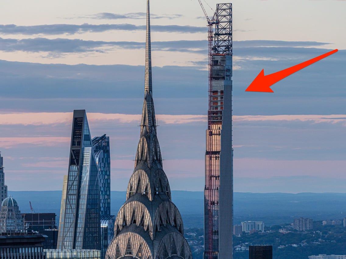 """برج """"ستاينواي"""" في منطقة مانهاتن يعد انحف ناطحة سحاب في العالم"""