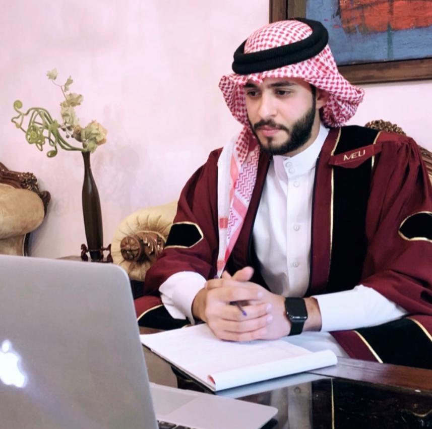 الطالب حمزة نايف المعاني