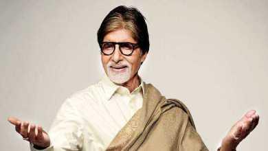 Photo of الممثل الهندي أميتاب باتشان ينشر صورته بالكمامة من كواليس التصوير