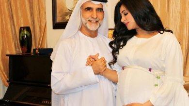 الممثلة هيفاء حسين وزوجها
