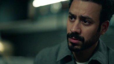 الممثل احمد الداوود في مشهد من مسلسل لعبة النسيان