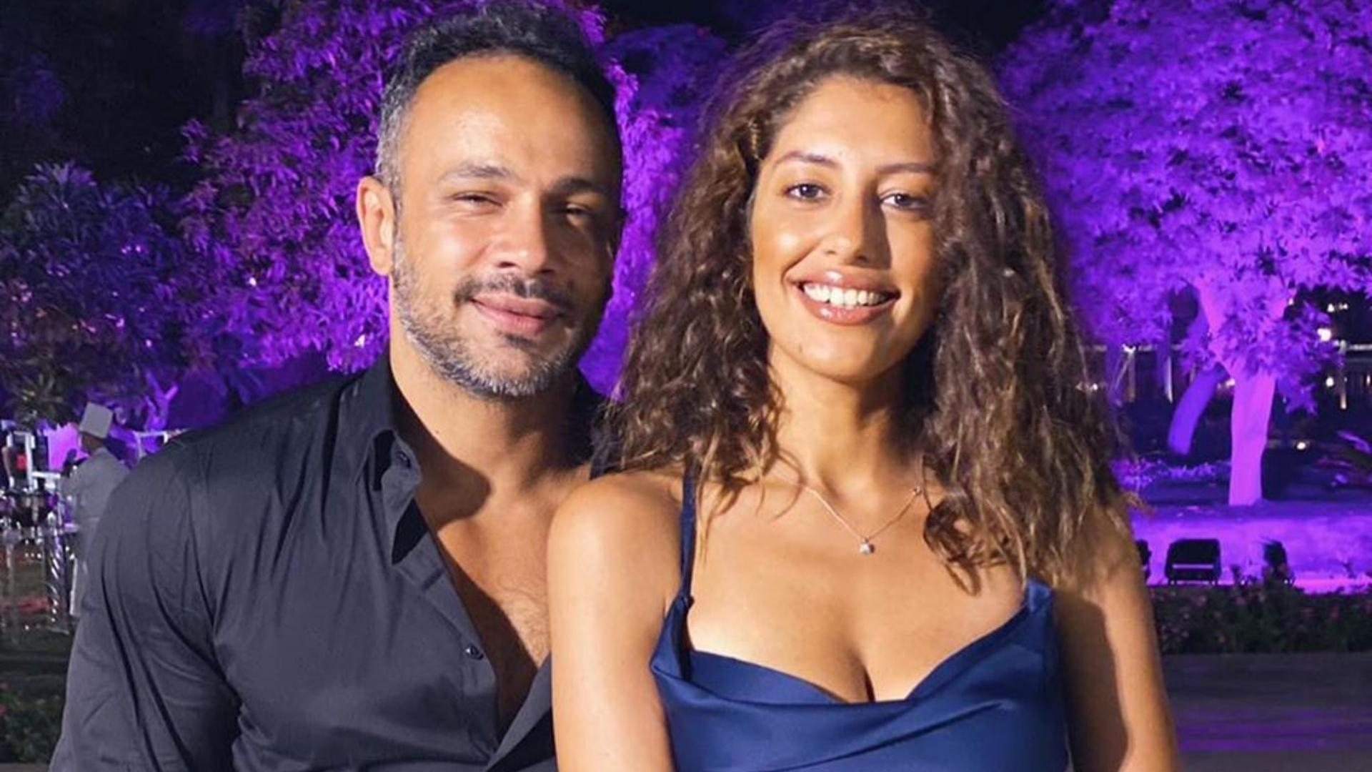 الفنان المصري محمد عطية والإعلامية المصرية ميرنا الهلباوي