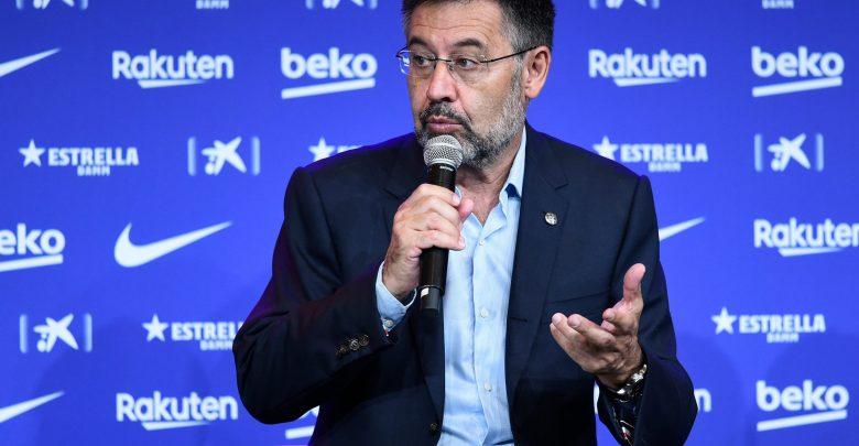 """Photo of بارتوميو ينفي نيته تقديم الاستقالة وميسي مفتاح """"المشروع الجديد"""""""