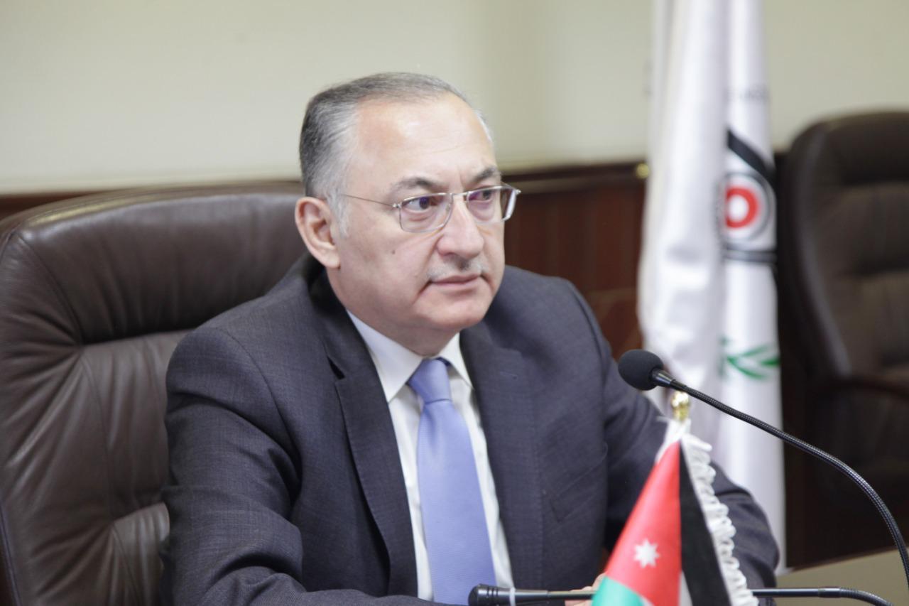 رئيس مجلس هيئة النزاهة ومكافحة الفساد د.مهند حجازي