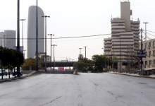أحد شوارع العاصمة عمان خلال الحظر الشامل -(تصوير: ساهر قدارة)