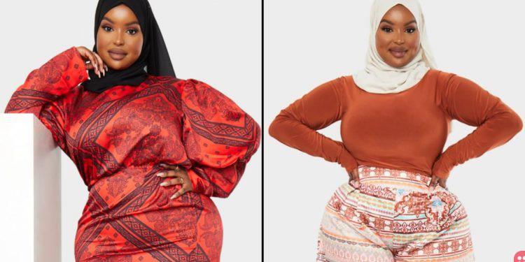 Photo of حطمت الحواجز بعالم الموضة.. أول عارضة أزياء تضع غطاء على الرأس بهذه الشركة العالمية