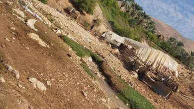 Photo of الأغوار الشمالية: حملة لترحيل القاطنين قرب مجاري الأودية