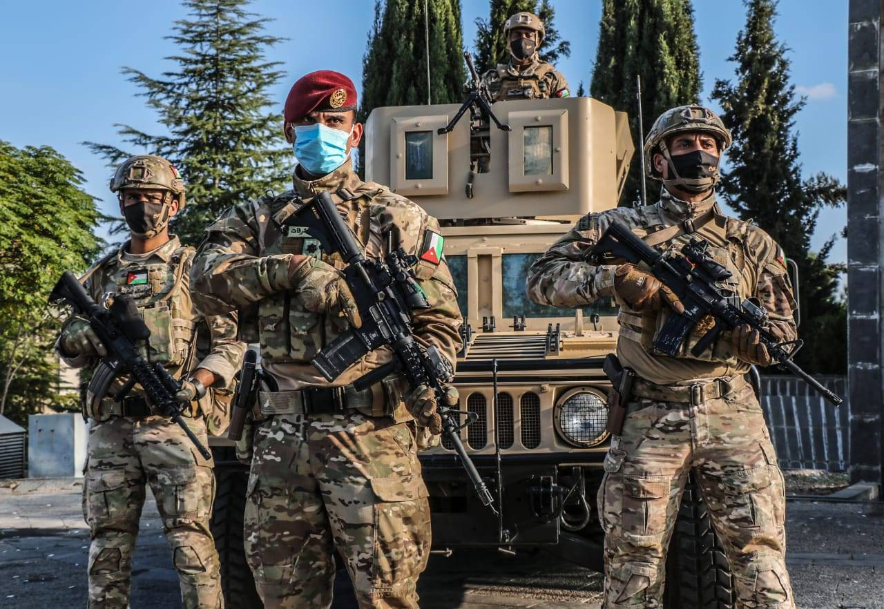 الجيش- القوات المسلحة تنتشر على مداخل ومخارج محافظات المملكة