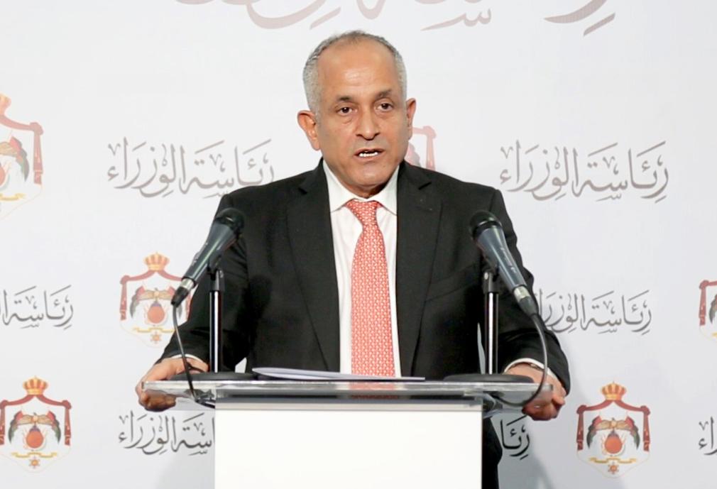وزير الدولة لشؤون الإعلام الناطق الرسمي باسم الحكومة علي العايد