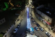 Photo of إضاءة شجرة عيد الميلاد المجيد في مادبا (صور)