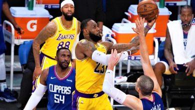 "Photo of كليبرز يُفسد فرحة ليكرز ويهزمه في اليوم الافتتاحي لـ ""NBA"""
