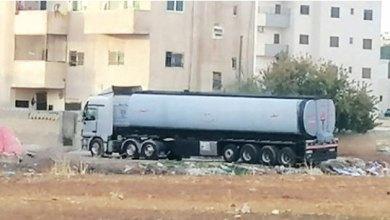 Photo of مادبا: شاحنات تحمل مواد مشتعلة تبيت بين الأحياء السكنية