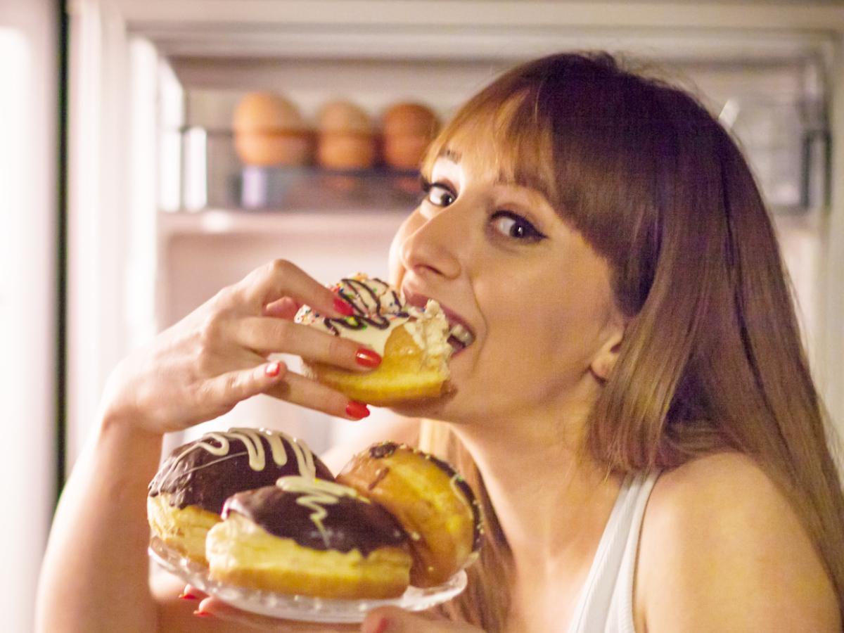 الافراط في تناول الطعام