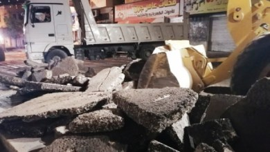 Photo of بلدية جرش تبدأ تبيلط الوسط التجاري رغم اعتراضات التجار