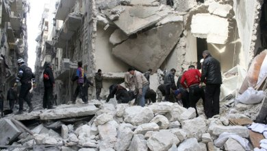 Photo of 85 قتيلا في قصف جوي بالبراميل المتفجرة على حلب
