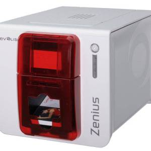 Evolis Zenius ID Card Printer (Single-Sided)