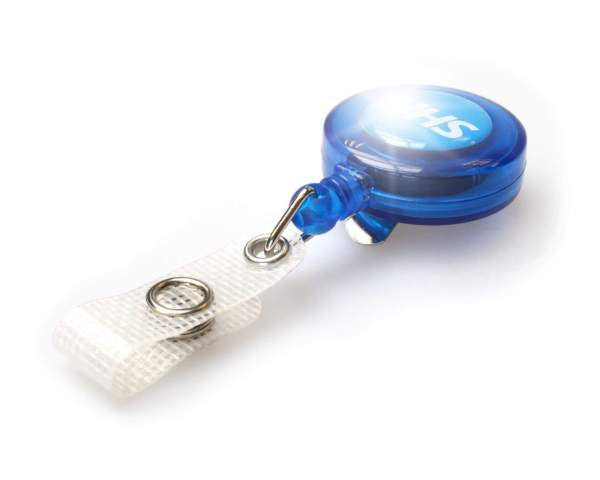NHS ID Badge Reels with Strap Clip (Pack of 100)