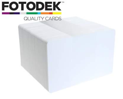 Fotodek Premium Ice Plastic Cards - Pack of 100