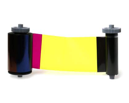 Smart-51 & 31 YMCKOK Full Colour 659376 Ribbon with Cleaning Roller - 200 Prints