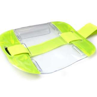 Hi-Vis Adjustable Armband Holder (Pack of 100)