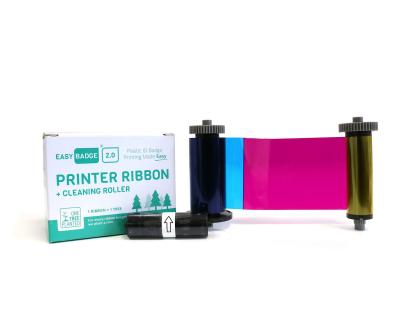 EasyBadge 2.0 YMCKO Full Colour Ribbon (100 Prints)