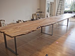 10 Urban Timber Long Live Edge Table Algin Office Furniture