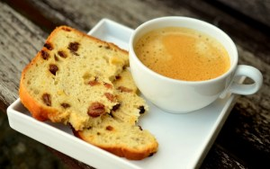 Kava i kruh sa glutenom